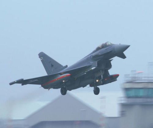 Eurofighter Typhoon successfully tests Meteor missile