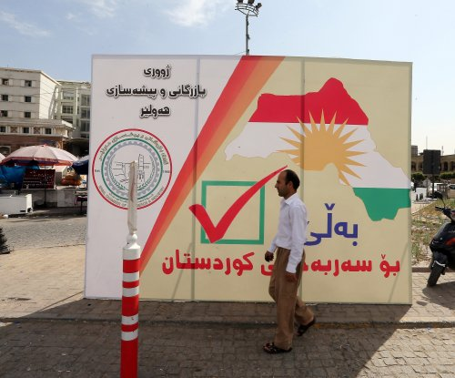 Kurdish president: Independence referendum will go on Monday