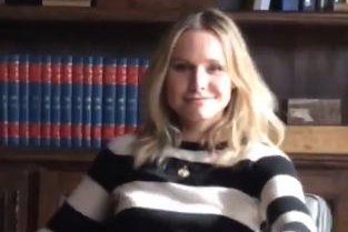 Kristen Bell shares sneak peak from 'Veronica Mars' set