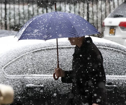 Another dose of wintry weather to smack Northeast for 2nd weekend in a row