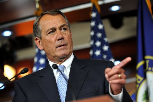 Boehner jokes about staying in eatery biz