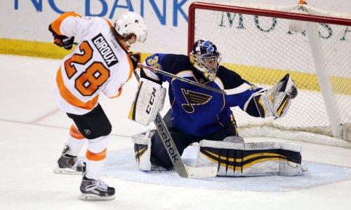 St. Louis beats Philadelphia Flyers 1-0