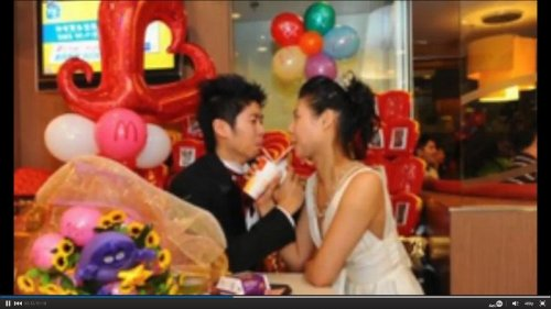 Really 'lovin' it'? Get married at McDonald's like Hong Kong residents