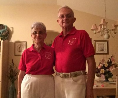 Grandparents wear matching outfits every day for 52 years