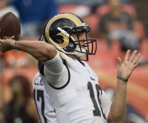 Jared Goff: No. 1 overall pick to start for Los Angeles Rams