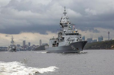 Australian navy begins three-week fleet certification exercise