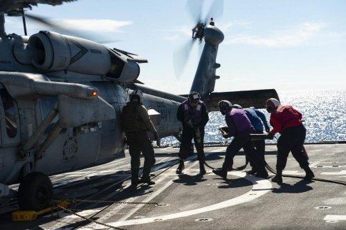 Navy's 2nd Fleet escorts convoy across the Atlantic