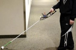 Researchers develop 'robo-cane' that may improve navigation for the blind