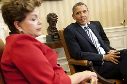 Rousseff voices monetary concerns to Obama