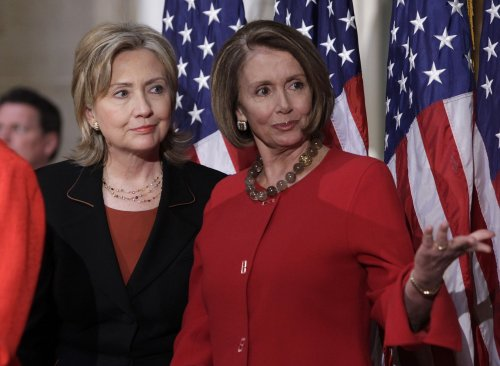 Pelosi, Clinton mark Women's History Month