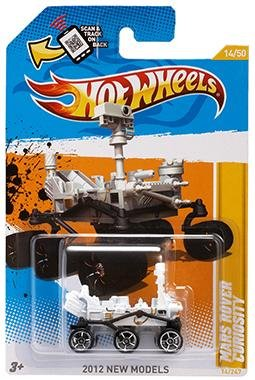 Mars rover Curiosity to be Hot Wheels toy