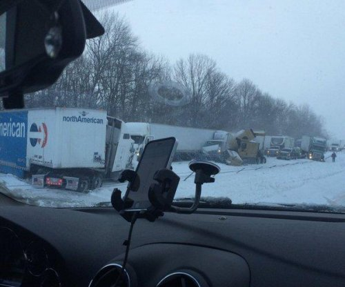 30-car pileup on I-70 in Indiana