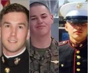 Pentagon identifies Marines killed in chopper crash off Australia
