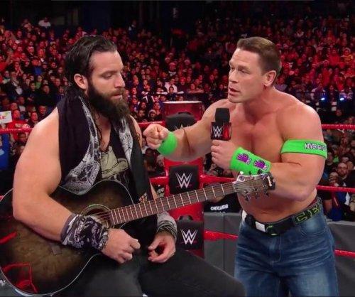 WWE Raw: John Cena battles Elias, new Tag Team Champions crowned