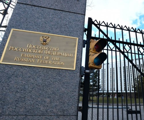 Russian Federation Embassy is like Fort Apache on Wisconsin Avenue