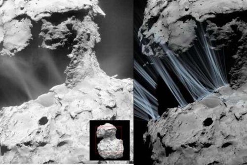 Rosetta illuminates origins of sunrise jets on comet 67P