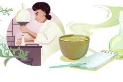 Google honors green tea researcher Michiyo Tsujimura with a new Doodle