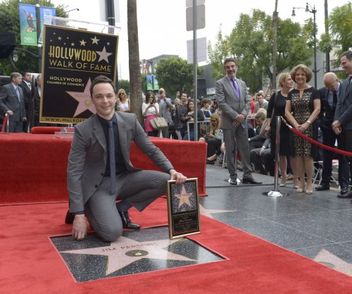 Jim Parsons honored with Walk of Fame star