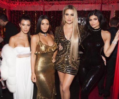 Kim Kardashian resurfaces for family Christmas party