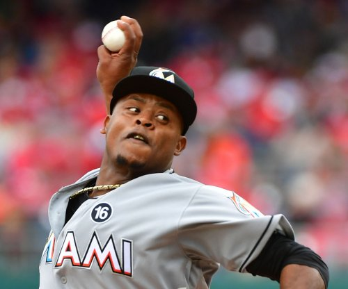 Miami Marlins RHP Edinson Volquez tosses first no-hitter of 2017