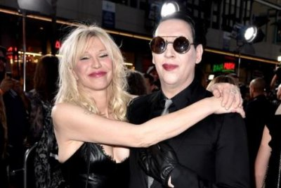 Marylin Manson on Courtney Love: 'We've always been weird with each other'