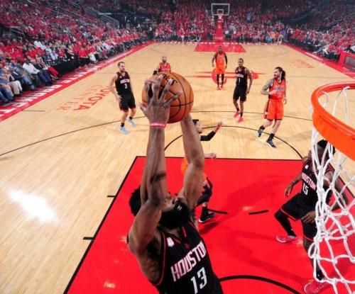 Patrick Beverley, James Harden lead Houston Rockets' rout of Oklahoma City Thunder