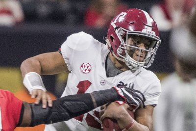 Alabama QB Tagovailoa on ankle: 'No setbacks'