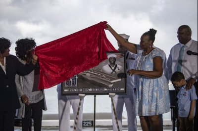 Navy names future aircraft carrier after Doris Miller at MLK Day ceremony