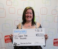 Woman wins two Idaho Lottery jackpots in two weeks