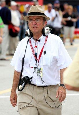 NASCAR owner Roush hospitalized