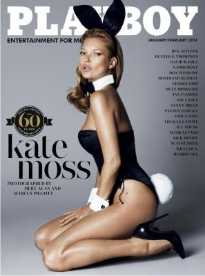Kate Moss Playboy shoot is classic Playboy, classic Kate