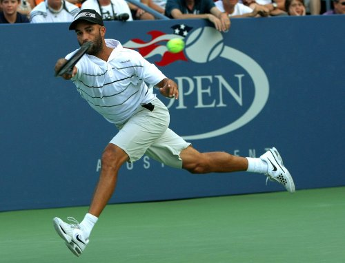 Fire at tennis star James Blake's Florida home may have been set by victims
