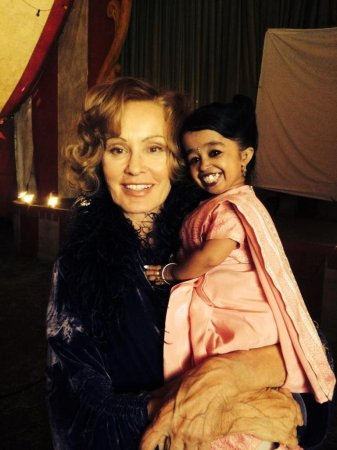 'American Horror Story' casts world's smallest woman, Jyoti Amge