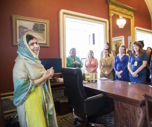Malala Yousafzai lobbies on Capitol Hill for global education funding