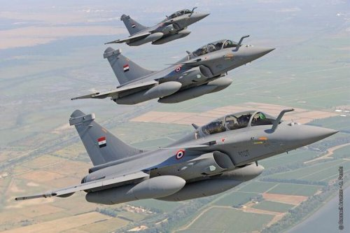 Dassault delivers Rafale fighters to Egypt