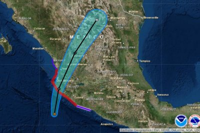 Hurricane Patricia strongest ever to hit Pacific; 'Catastrophic' damage possible in Mexico