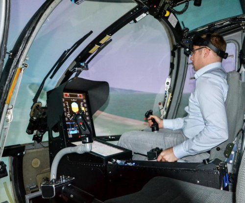 Augmented reality helmet helps pilots see through clouds, fog