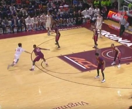 Virginia Tech upsets No. 12 Virginia in double OT