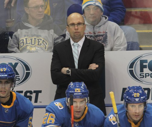 St. Louis Blues win in Mike Yeo's return to Minnesota