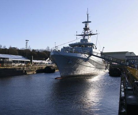 Royal Navy names new offshore patrol vessel