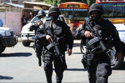 Police arrest dozens of suspected MS gang members in El Salvador raids