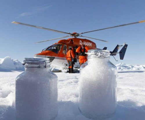 Snow, sea ice littered with microplastics in the Arctic