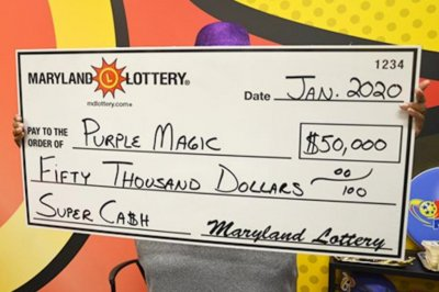 Maryland woman collects her second lottery jackpot