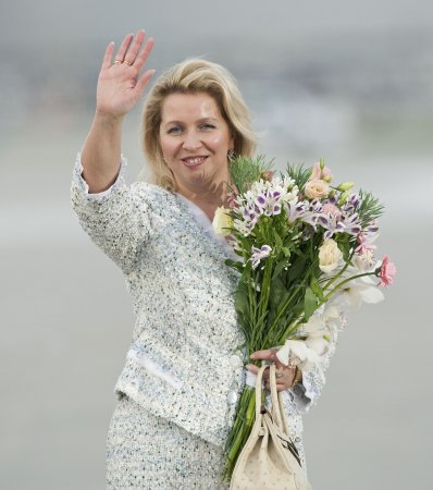 Medvedev's wife to attend blonde gathering