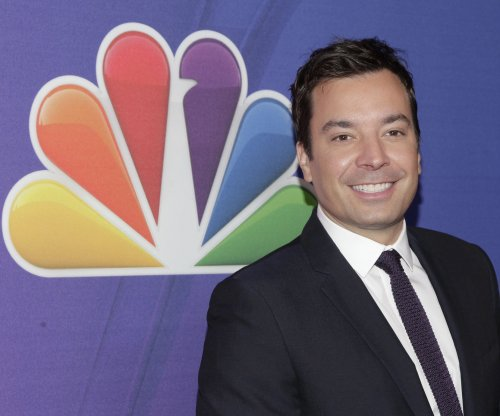 Jimmy Fallon and Russell Crowe sing 'Balls in Your Mouth' for Earth Day