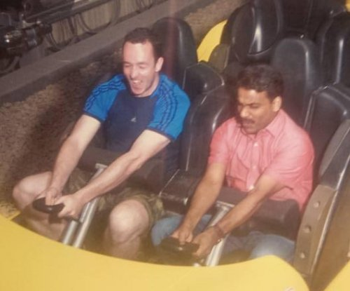Man brings cab driver to theme park in UAE