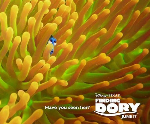 Dory hides in new 'Finding Dory' posters
