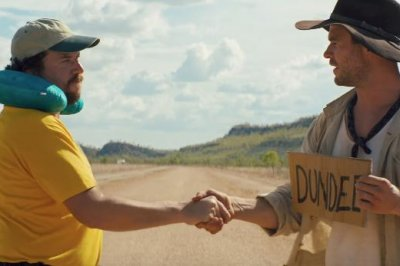 Chris Hemsworth questions Danny McBride in 'Dundee' teaser