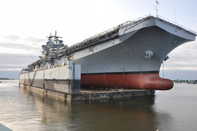 Amphibious assault ship USS Tripoli completes acceptance trials