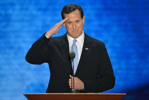 Santorum: Romney will keep dream alive